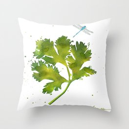 Dragonfly Two Throw Pillow