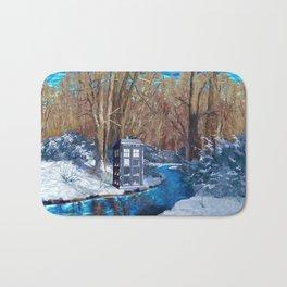 Frozen Tardis Doctor who iPhone 4 5 6 7 8, pillow case, mugs and tshirt Bath Mat