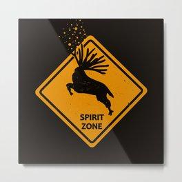 Spirit Zone, Mononoke Metal Print