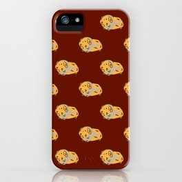 Lil hamster friend  iPhone Case