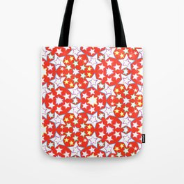 seamless pattern with stars Tote Bag