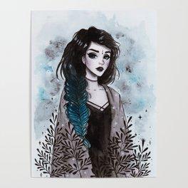 Day3 Inktober- Modern Witch Poster