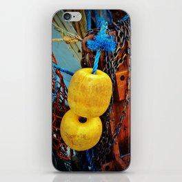Yellow Buoys iPhone Skin
