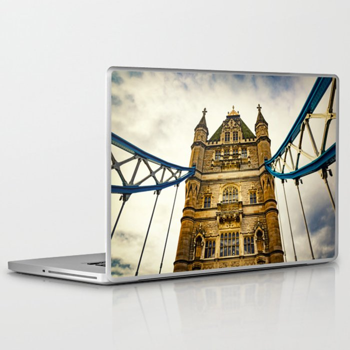 Tower Bridge 02 Laptop & iPad Skin