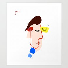 copy of you Art Print