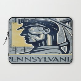 Vintage poster - Pennsylvania Laptop Sleeve