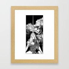asc 706 - Le mystère Mang (The Mang mystery) Framed Art Print