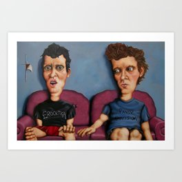 Springtime for Butthead Art Print