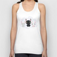 rabbits Tank Tops featuring Rabbits by Ilya Konyukhov