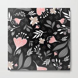 Spring Flowers Style P Metal Print