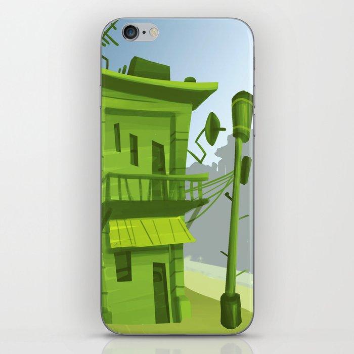 corner house iPhone Skin