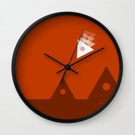 """Sacred Landing"" Wall Clock"