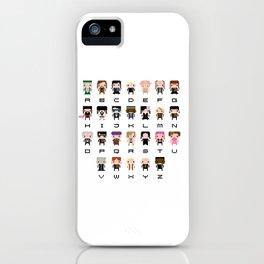 Harry Potter Alphabet iPhone Case