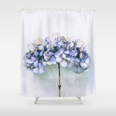 Delicate Hydrangea Shower Curtain