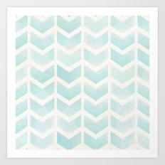 Sea Blue Dreaming Art Print