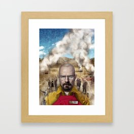 The One Who Knocks Framed Art Print