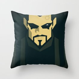 Jensen / Deus Ex: Human Revolution Throw Pillow
