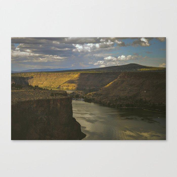 Central Canyon Canvas Print
