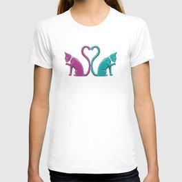 Hearttail Cats T-shirt