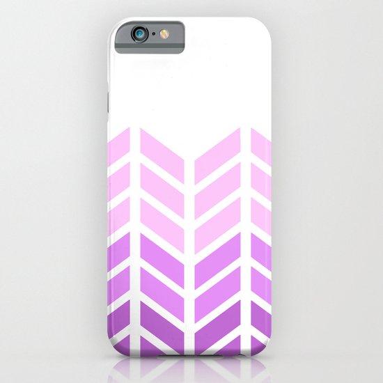 OMBRE LACE CHEVRON 2 iPhone & iPod Case