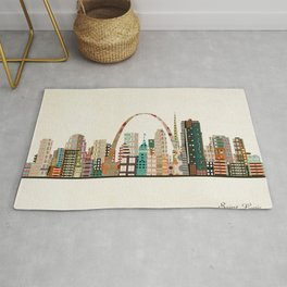 saint louis skyline Rug
