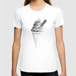 Mr. Whippy 99 Flake Ice-Cream Cone T-shirt