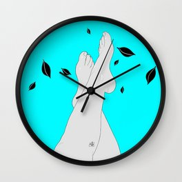 CeLegs Wall Clock