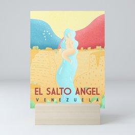 El Salto Angel - Venezuela Mini Art Print