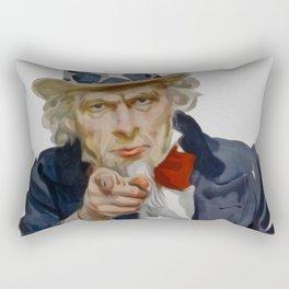 Uncle Sam Rectangular Pillow