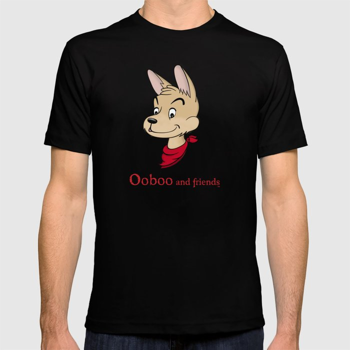 Ooboo and friends: Ooboo Poster T-shirt