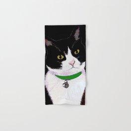 Tuxedo Cat Hand & Bath Towel