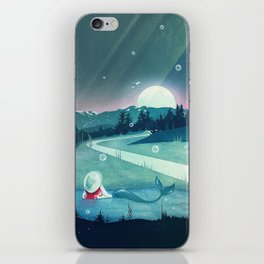 A Mermaid's Dream iPhone Skin