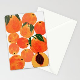 Peach Harvest Stationery Cards