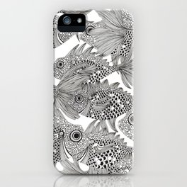 Fish School II iPhone Case