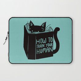 Cat Reader Advice Laptop Sleeve