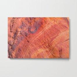 Natural Sandstone Art - Valley of Fire Metal Print