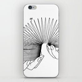 Use of Toy Slinky iPhone Skin