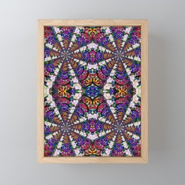 Fractal Framed Mini Art Print