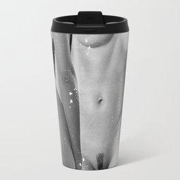 Two Nude Women Travel Mug