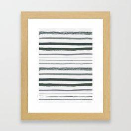 Stripes Gerahmter Kunstdruck