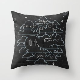 A Sky Full Of Star Throw Pillow