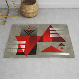 SUMMIT | red Rug