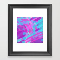 COLOR BURST Framed Art Print