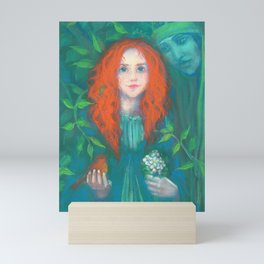 Child of the forest Mini Art Print