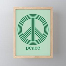 Peace Framed Mini Art Print