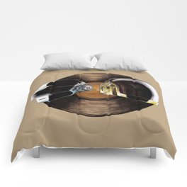 """""""Give Life Back to Music"""" Comforters"""