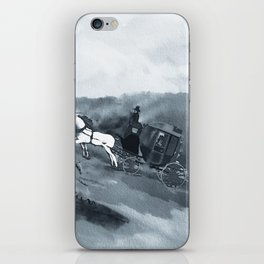 The Old Stagecoach iPhone Skin
