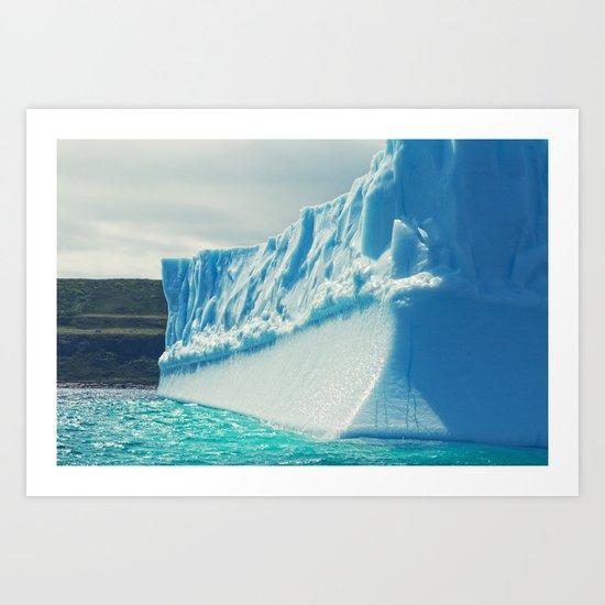 Icescape Art Print