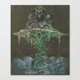 The Yogiest Bear Canvas Print