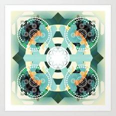 Arctic illusion Art Print